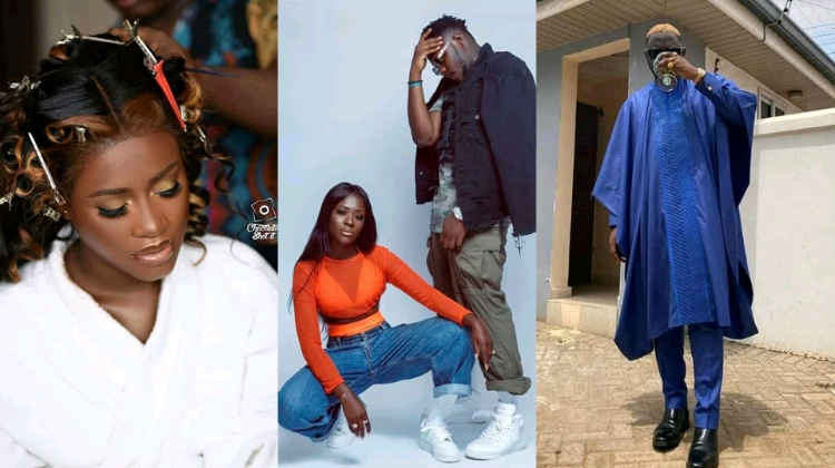 The long wait is over as all is set For the traditional marriage ceremony for our celebrity couples Medikal and Fella Makafui
