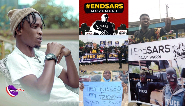 Nigerians blast Laycon 'Useless Youth Ambassador' For Shooting Music Video Amidst Protest