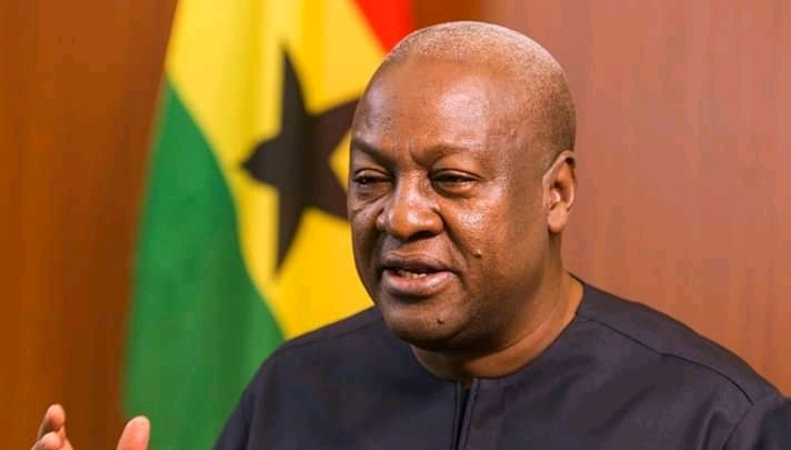 Mahama says Ghanaians voted for change of government