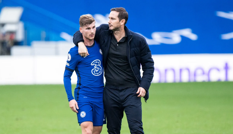LAMPARD UNCONCERNED BY WERNER MISSED CHANCES: 'HE'S SO DANGEROUS EVEN WHEN HE DOESN'T SCORE'