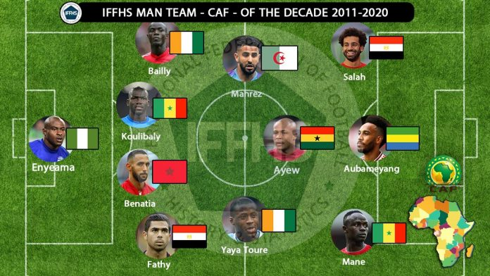 IFFHS African Team Of The Decade