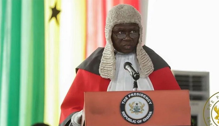 Chief Justice responds to Muntaka's bribery allegation against a Justice of the Supreme Court