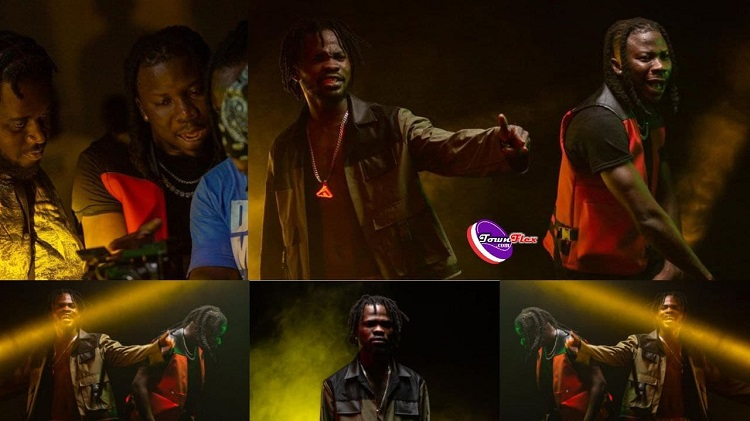 Fameye And Stonebwoy Link Up, Shoots Video For New Song [See Photos]