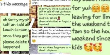 Cheating mom mistakenly sends love messages to his son