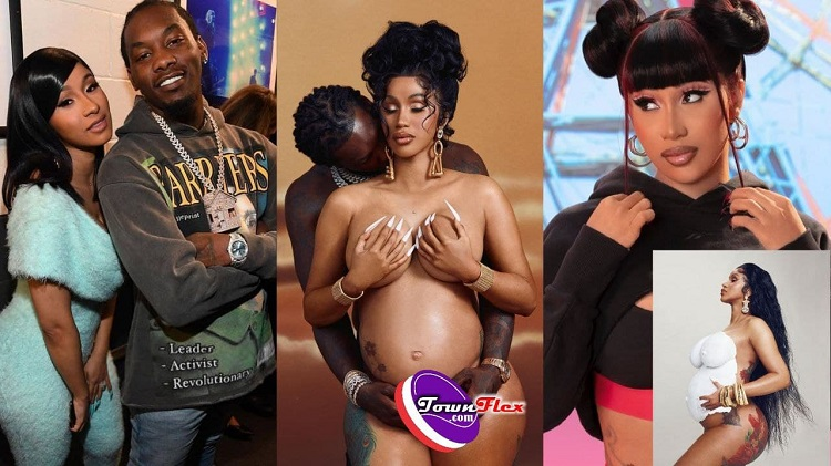 Cardi B Is Pregnant with Her Second Child With Offset, Baby Bump Drops (Photos + Video)