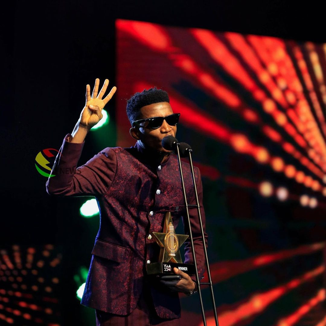 VGMA 2021 Kofi Kinaata Wins Songwriter Of The Year For The 4th Time