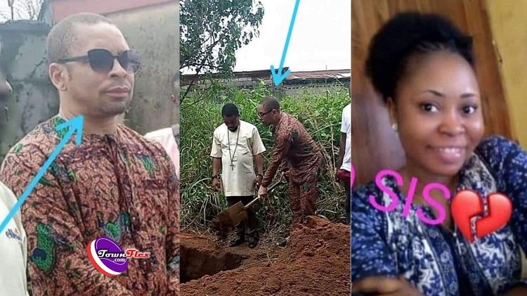 Pastor allegedly forced to marry fiancée's corpse, she died after he aborted her pregnancy (Photos)